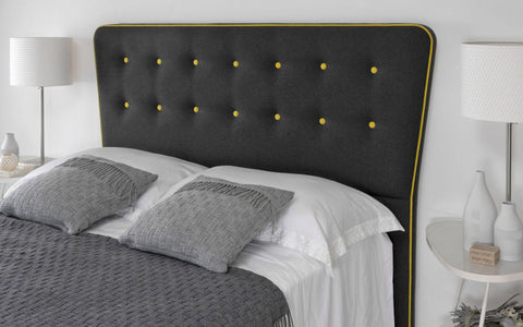Manhattan Mix and Match Floor Standing Upholstered Headboard