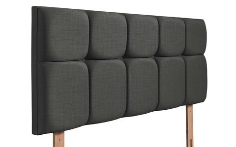 Milan Upholstered Headboard - 2ft6 Small Single - The Headboard Store