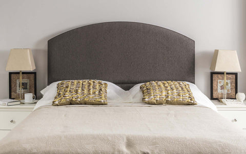 Monaco Upholstered Headboard - 2ft6 Small Single - The Headboard Store