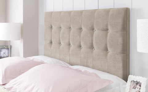 bed standing malmaison headboard floor upholstered free with