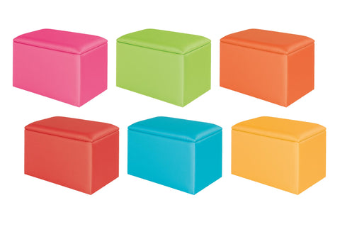 Starburst Upholstered Toy Box