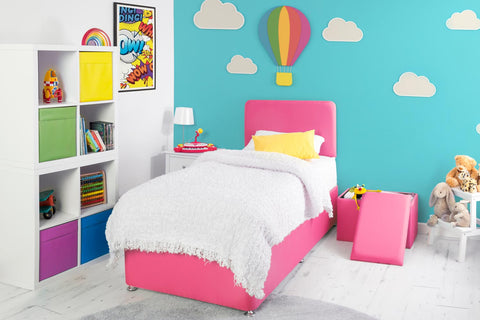 Starburst Children's Divan Bed Base - 3ft Single