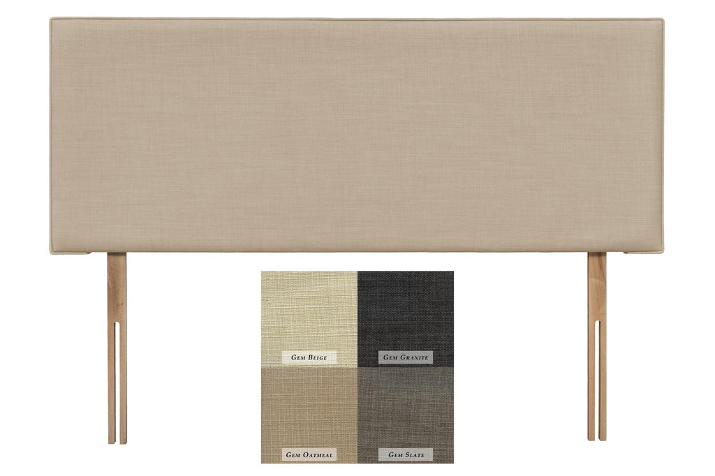 Luxor Upholstered Headboard (Express Delivery Range)