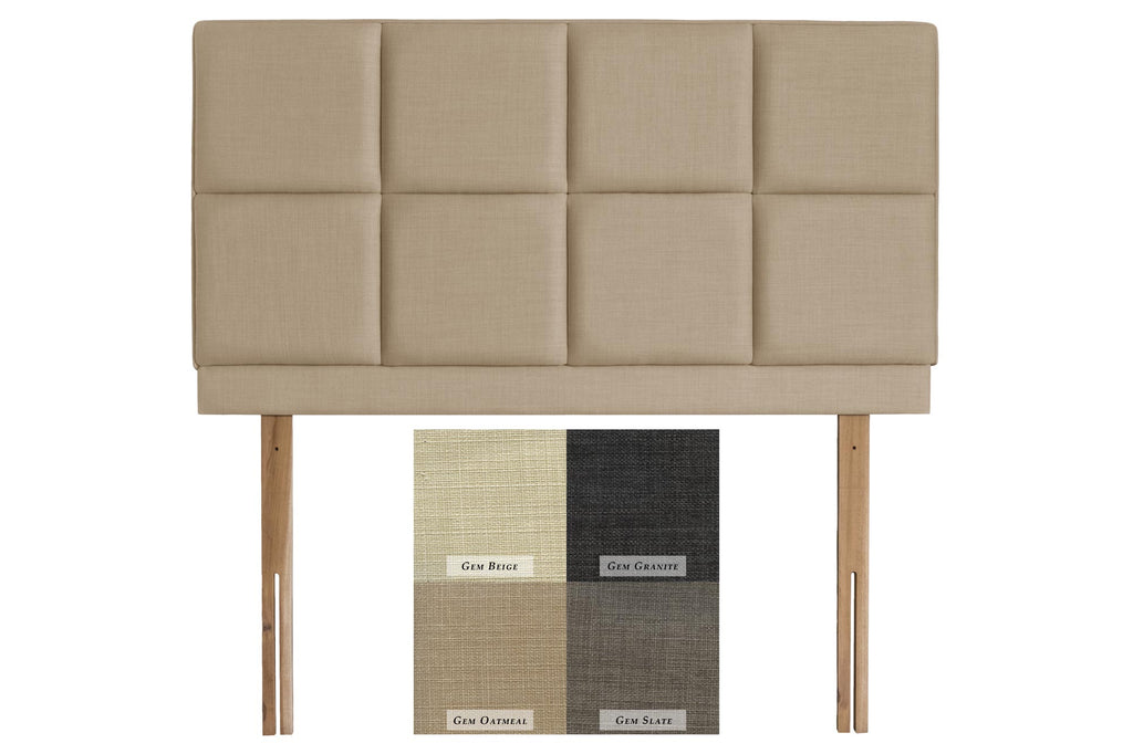 Turin Upholstered Headboard (Express Delivery Range)