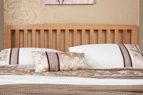 Thornton Solid Oak Wooden Headboard