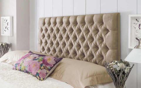 Tiffany Upholstered Floor Standing Headboard