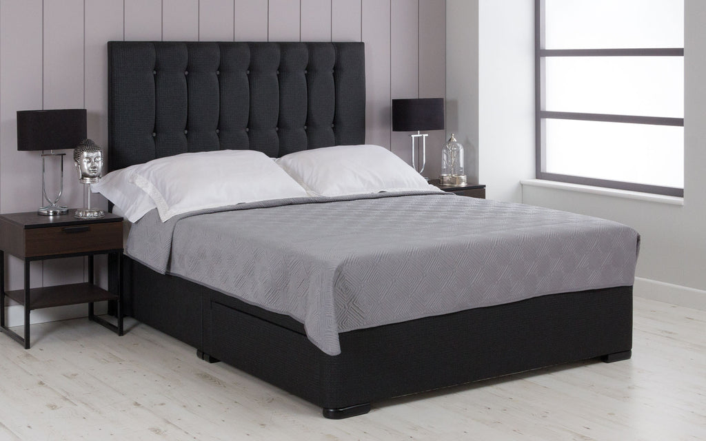 Contemporary Upholstered Divan Bed Base