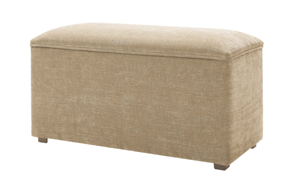 Upholstered Storage Ottoman The Headboard Store