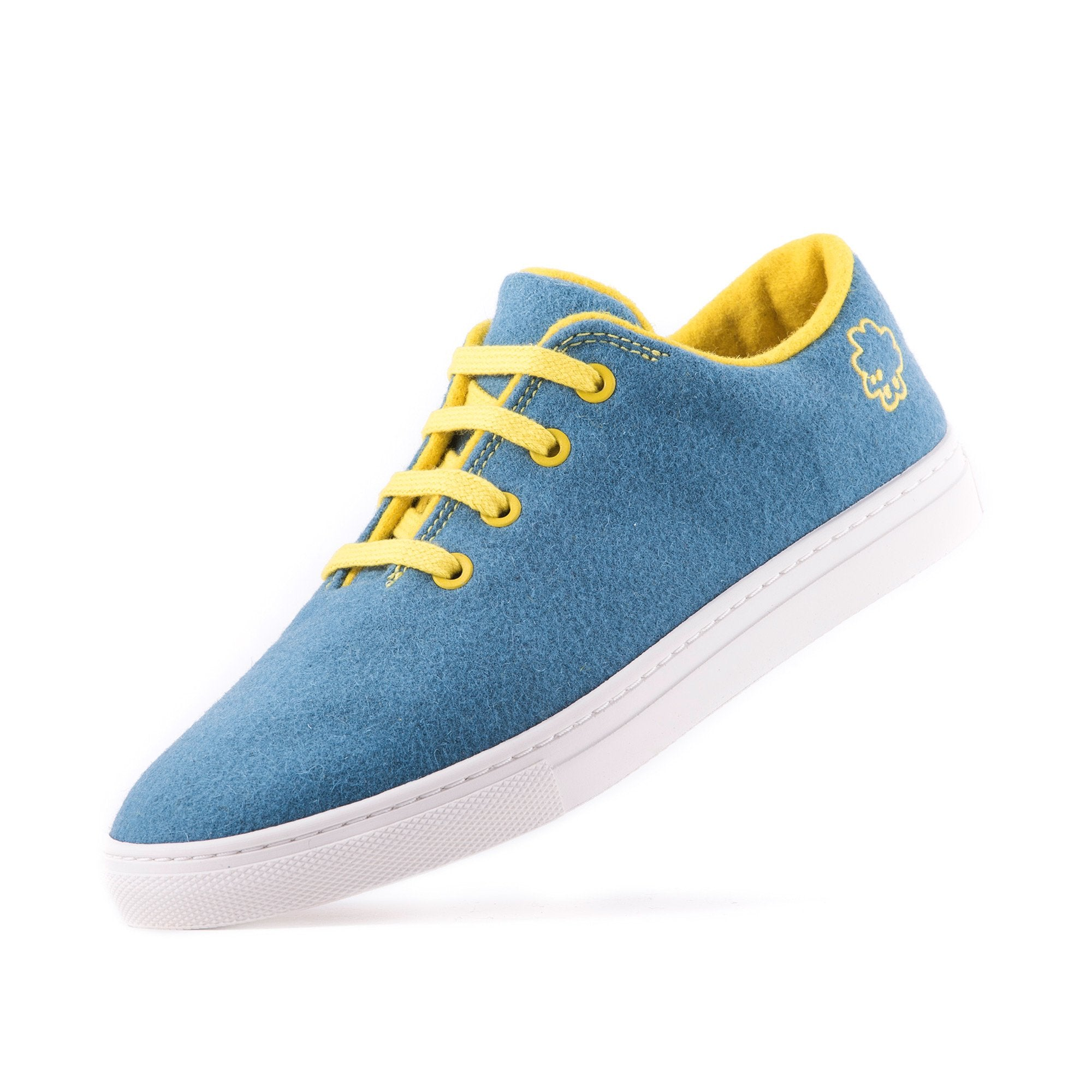 Sneaker Light Blue / Yellow
