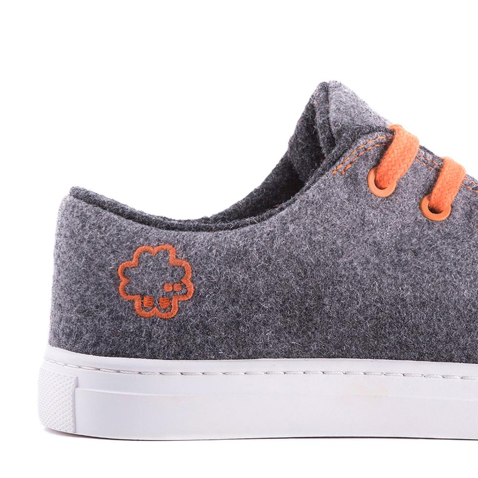 Sneaker Grey / Orange