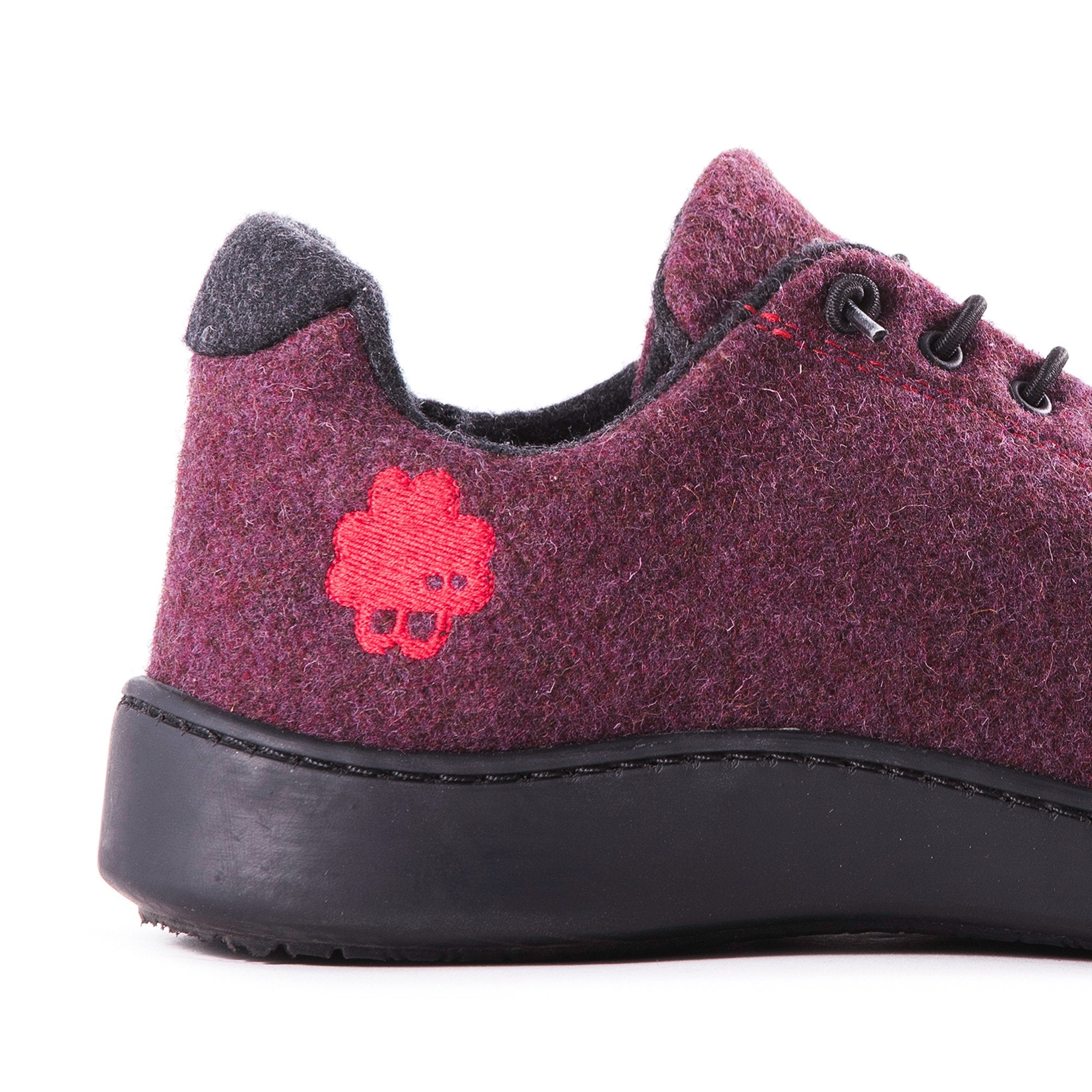 Urban Wooler Bordeaux / Black