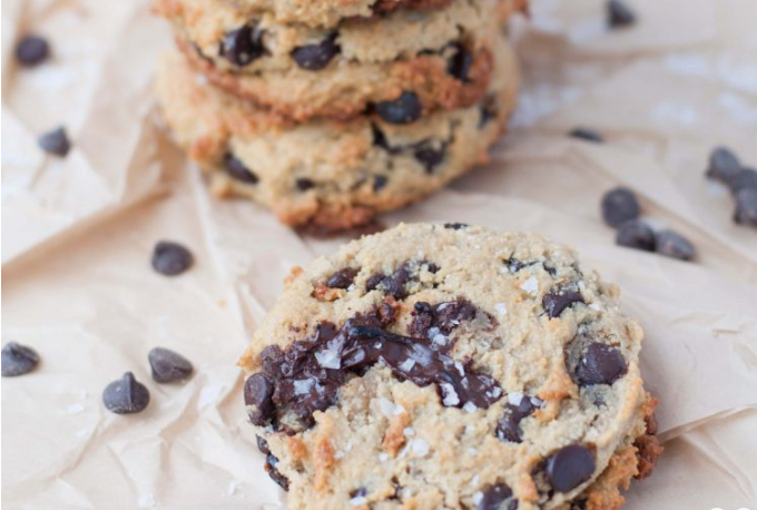 Keto Salted Chocolate Chip Cookies Recipe