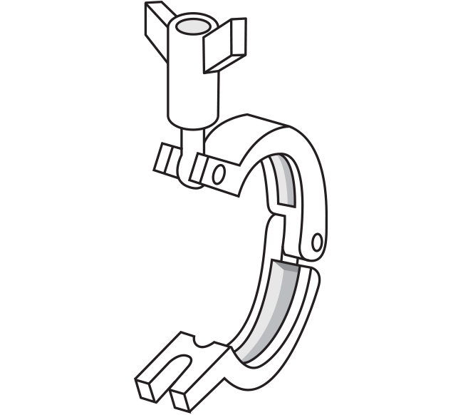 Clamps for Quick Clamp Fittings