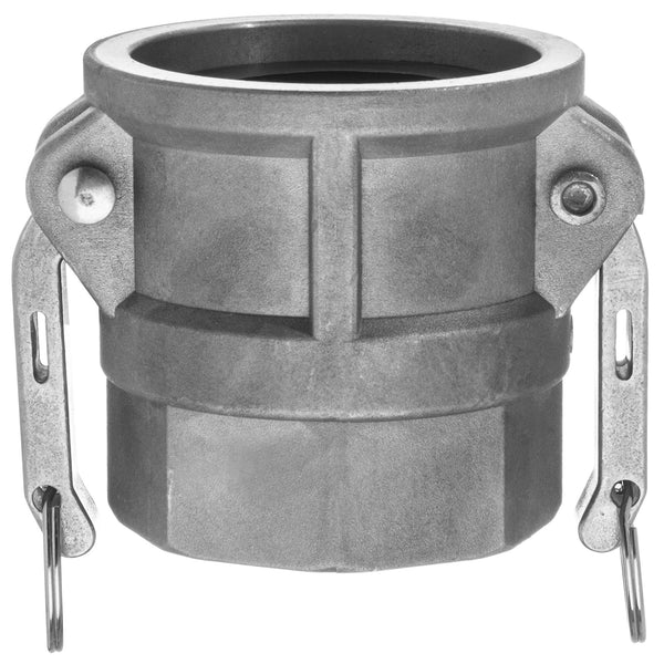 Type D Coupler with Threaded NPT Female End - Aluminum