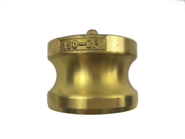 Type DP Adapter with Dust Plug - Brass