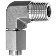 37 Degree Flared Tube Fitting-90 Degree Elbow Adapter-Tube to Male Threaded Pipe