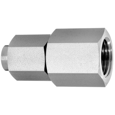 37 Degree Flared Tube Fitting-Straight Adapter-Female Threaded Pipe