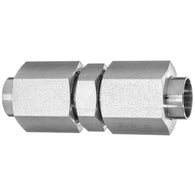 37 Degree Flared Tube Fitting-Straight Connector-Tube to Tube