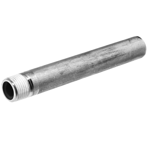 Schedule 40 304 Stainless Steel Pipe Nipple Threaded on One End (NPT x Butt Weld)