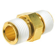 Brass Instrumentation Fitting Hex Nipple