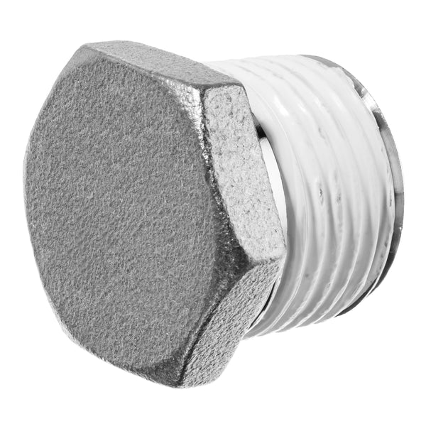 316 SS Instrumentation Hex Head Plug