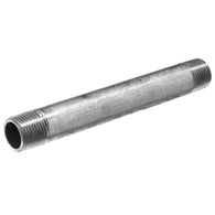 "Schedule 40 304 Stainless Steel Pipe Nipple 1-1/2"" to 12"" Inch Length"