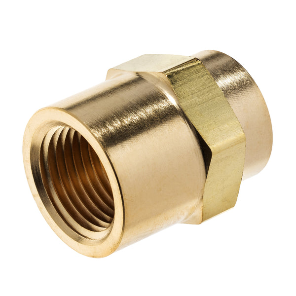 Brass Instrumentation Fitting Reducing Hex Coupling