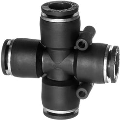 Push to Connect Tube Fittings-Cross Connector-Tube to Tube