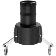Type C Coupler with Hose Shank - Polypropylene