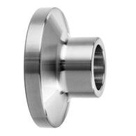 Short Ferrule Quick Clamp to Butt Weld Sanitary Fitting - 304SS