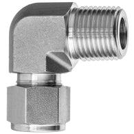 Instrumentation Tube Fittings-90 Degree Elbow Adapter-Tube to Male Threaded Pipe