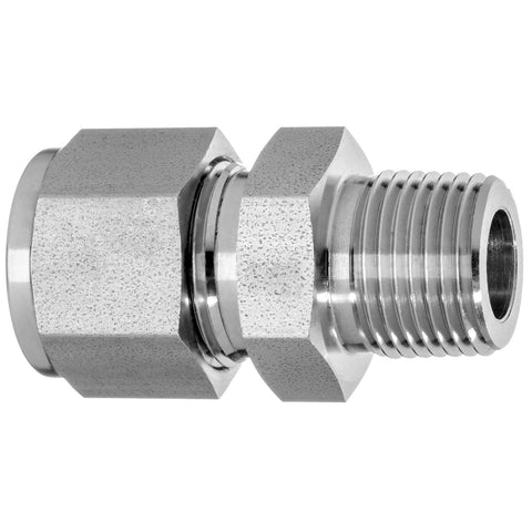Instrumentation Tube Fittings-Straight Adapter-Tube to Male Threaded Pipe