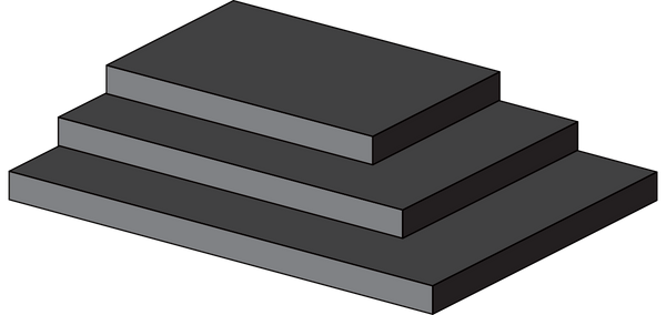 Chemical Resistant Viton Foam Sheets