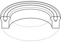 Heavy Duty O-Ring Supported U-Cups