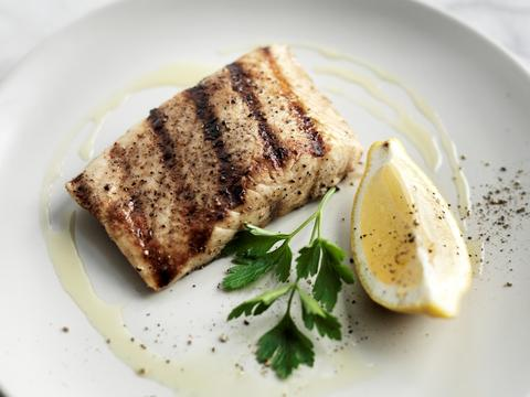 Grilled Sturgeon with Lemon and Parsley - Attilus Caviar