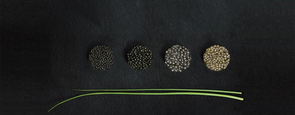 different types of caviar