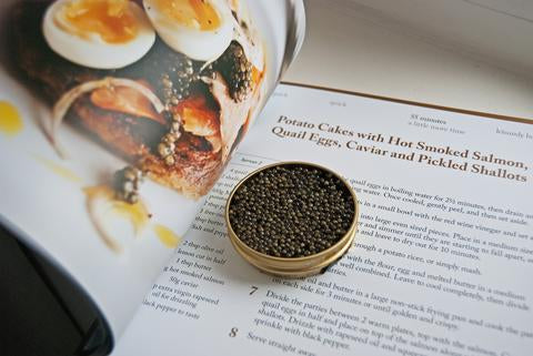 Attilus Caviar Recipe Book Inside