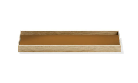 Munk Collective – Frame Tray – Oak/ Pure Ocher – Small