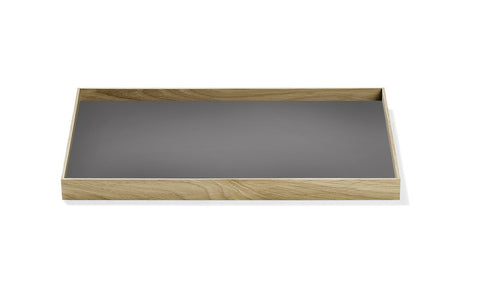 Munk Collective – Frame Tray – Oak/ Warm Gray – Medium