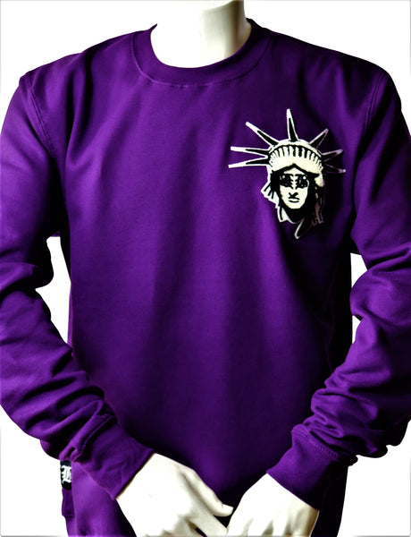 BBNYC Purple Crew Neck