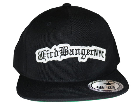 BirdBangerNYC White Patch Snapback