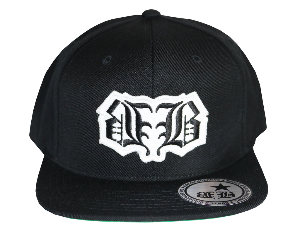 BBNYC White Logo Patch Snapback