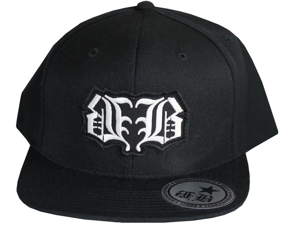 BBNYC Black Logo Patch Snapback