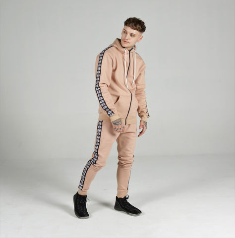 Mushroom Tan BBNYC Back2Back Logo Sweatpants