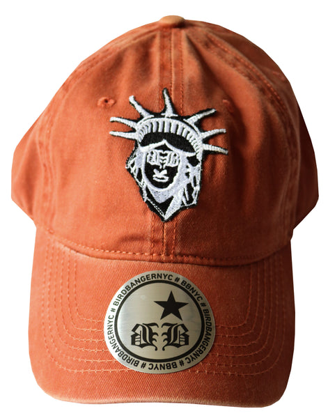 "BBNYC ""Liberté"" Orange Custom Dad Hat"
