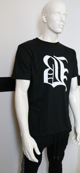 BBNYC Black Back2Back Short Sleeve Logo T Shirt