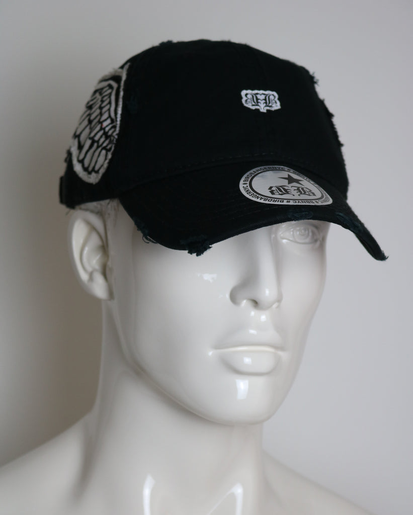Black Custom BBNYC Wingz Dad Hat