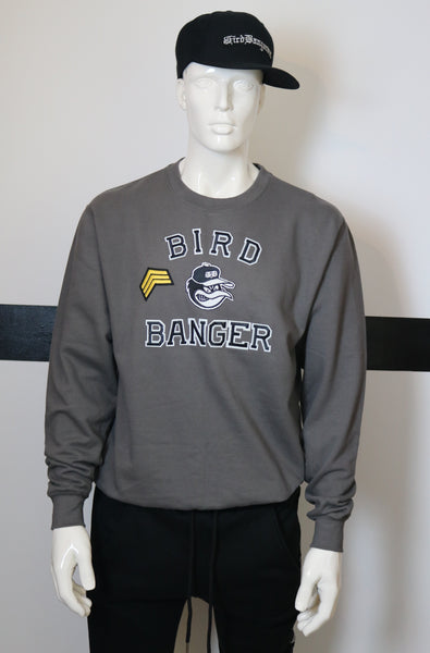 BBNYC Ranger Grey Crew Neck 1 OF 1