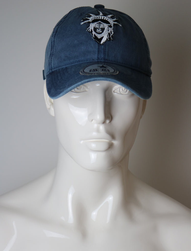 "BBNYC ""Liberté"" Blue Jean Custom Dad Hat"