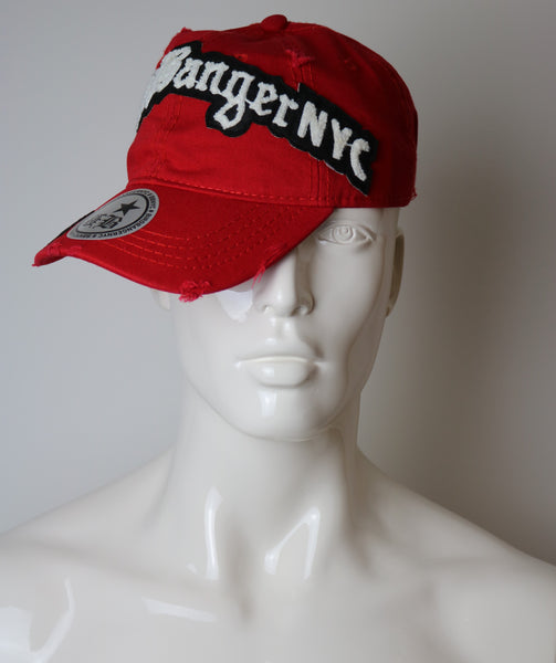 Red Custom BBNYC Dad Hat